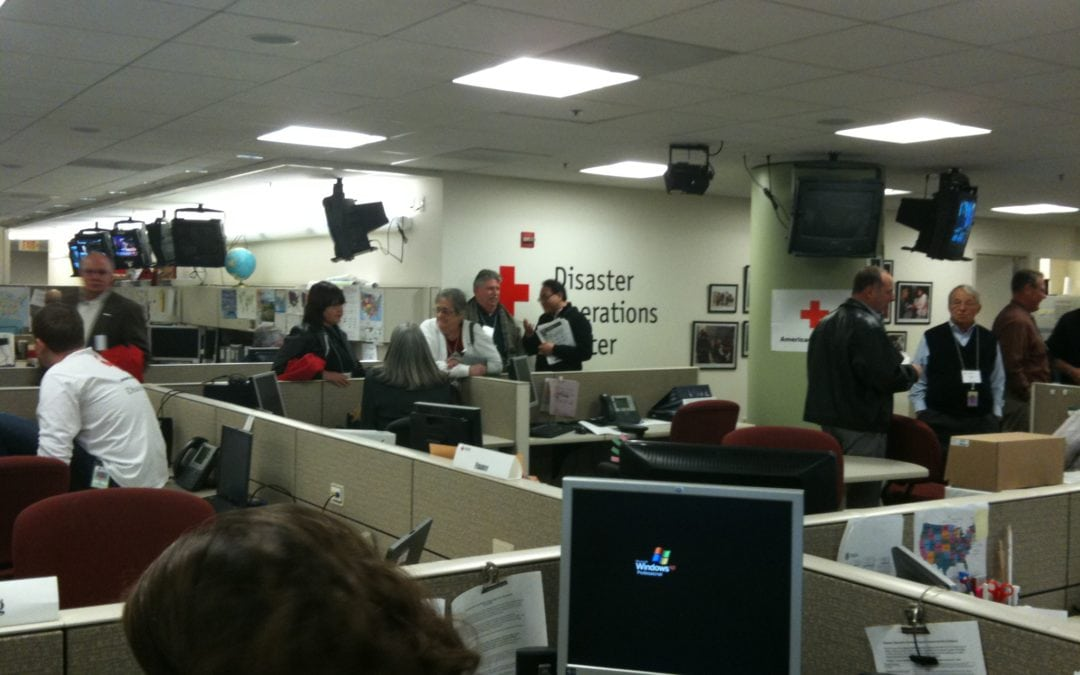 Red Cross Disaster Services – a Lesson in Motivation