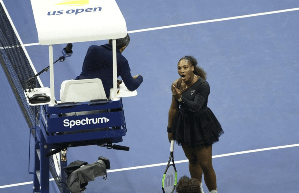 Learn From Serena Williams' U.S. Open Performance And Control Your Reactions To Events