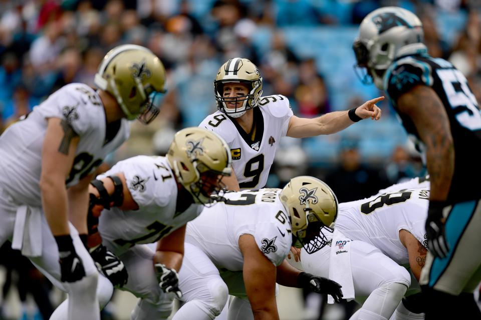 Taking A Page Out Of Drew Brees's Playbook To Lead Through COVID-19