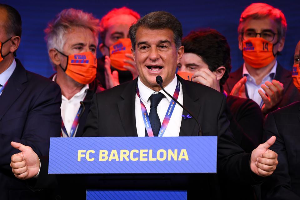 Why Barcelona's Boomerang President Joan Laporta Will Fail